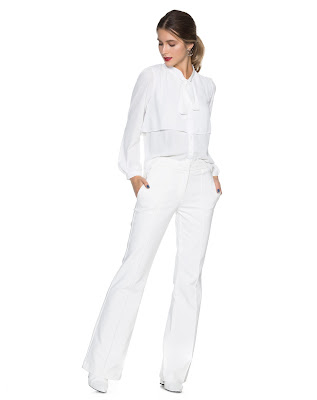 Moda camisa layer essential off white