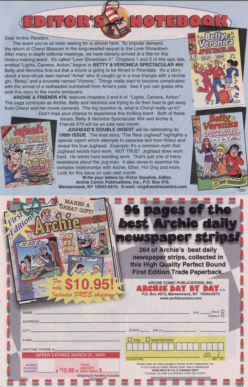 Read online Archie (1960) comic -  Issue #543 - 11