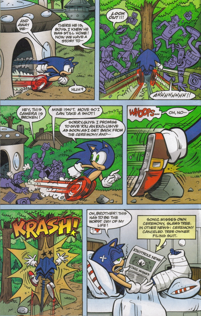 Read online Sonic The Hedgehog comic -  Issue #167 - 22