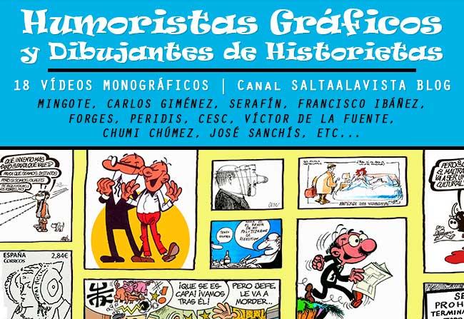 Programa TVE Humoristas Gráficos y Dibujantes de Historietas