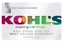 Kohls charge card - save 20% Off
