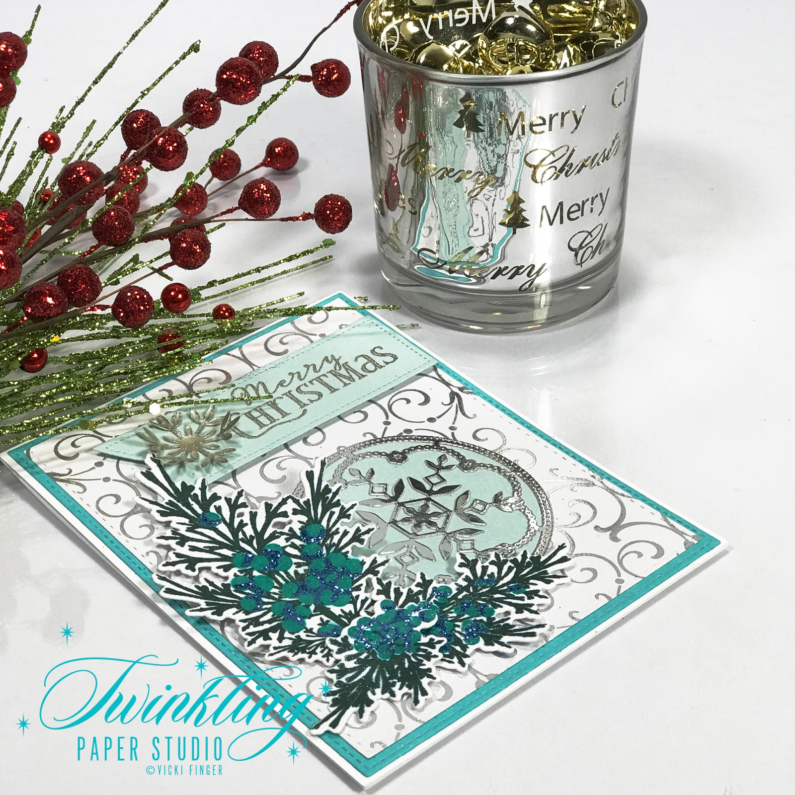 Cream colored cardstock paper studio - I Also Knew I Wanted To Use A White Or Silver Snowflake For My Epoxy Embellishment To Go With This So I Used A White And Silver Foiled Background Paper