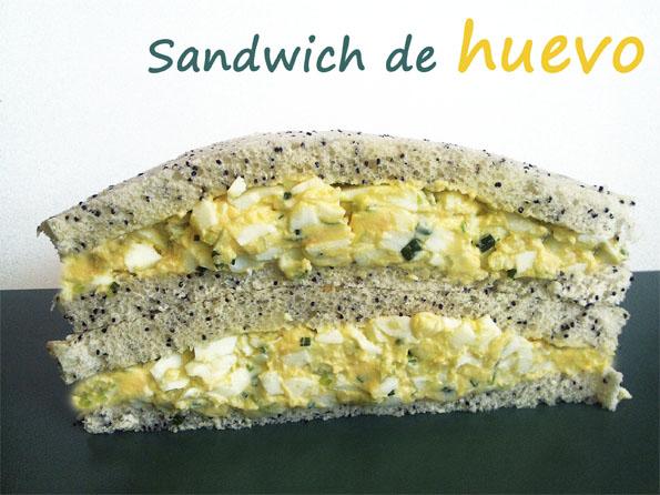 La Cocinera Novata_sandwich de huevo ensalada receta cocina gastronomia vegetal bocadillo mayonesa light yogur griego light