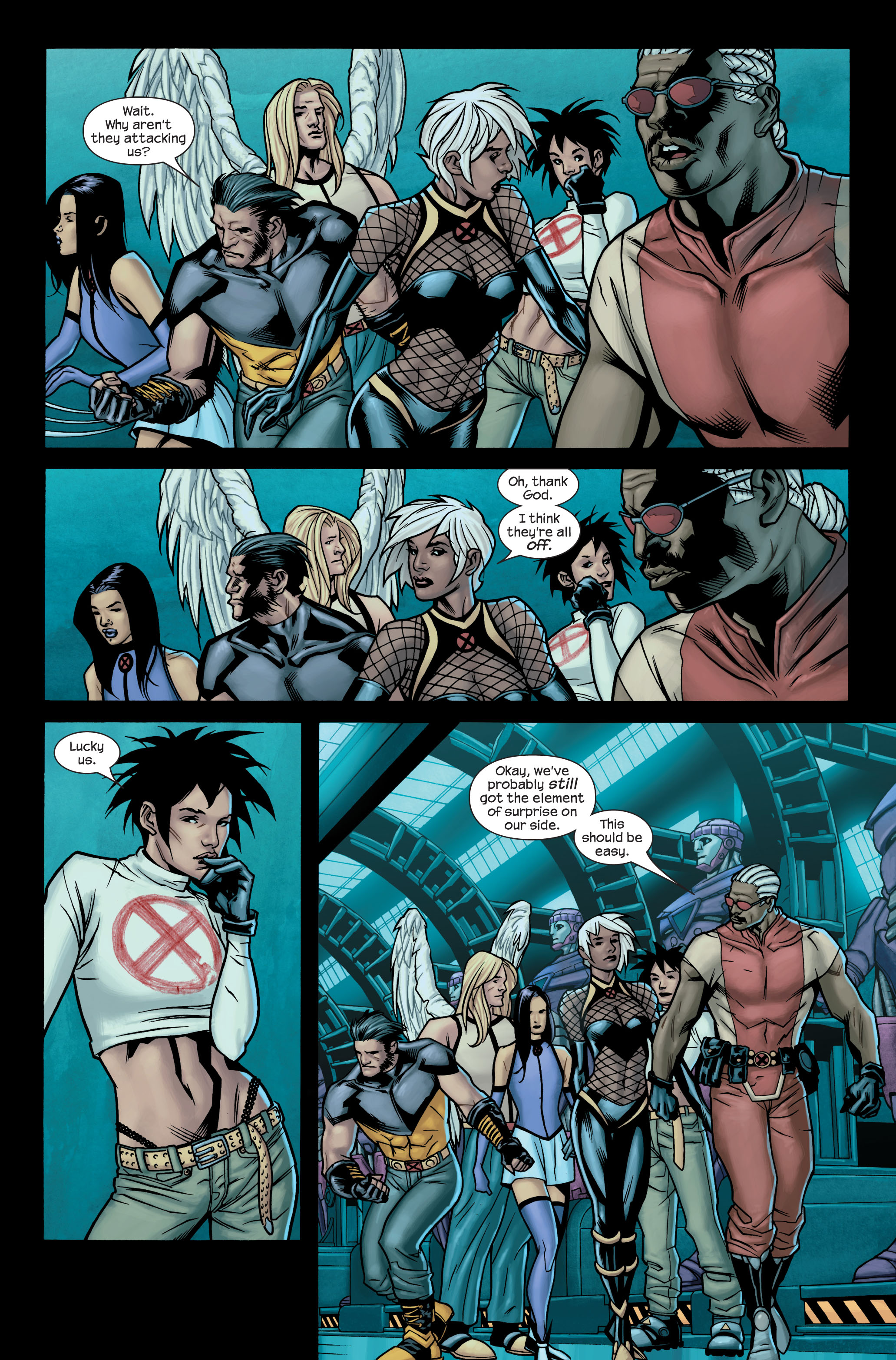 Read online Ultimate X-Men comic -  Issue #85 - 21