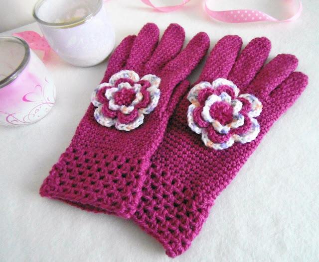 #crochet #handmade #gloves #pink #heegeldatud #sõrmik  #kinnas # käsitöö