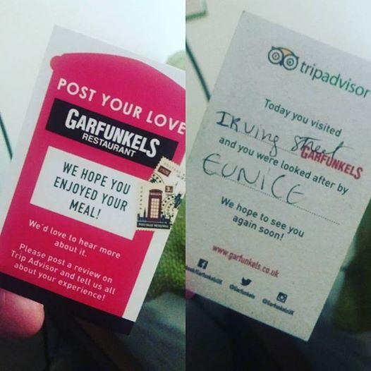 Garfunkels: Apostando também na qualidade de seu atendimento!