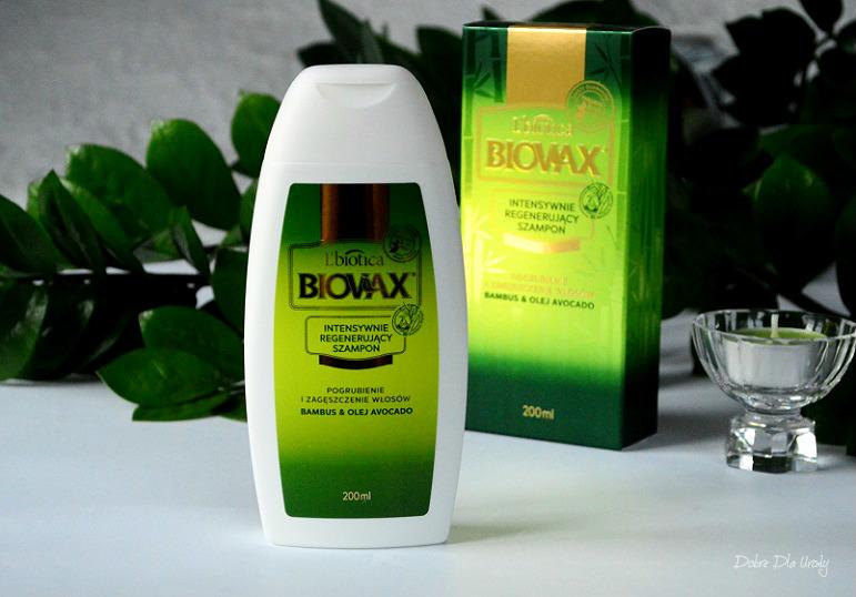 L' biotica Biovax Szampon Bambus & Olej Avocado recenzja