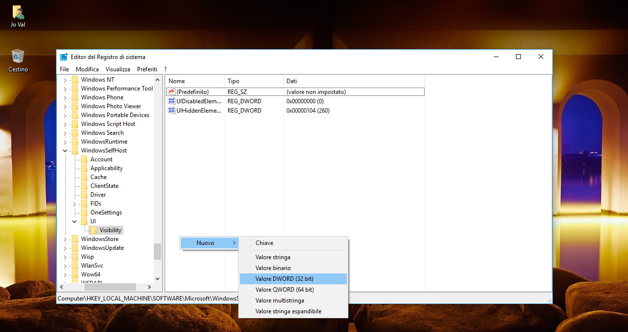 """Come rimuovere la voce """"Programma Windows Insider"""" nelle Impostazioni di Windows 10 2 HTNovo"""