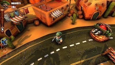 Guerilla Bob - Arcade Game