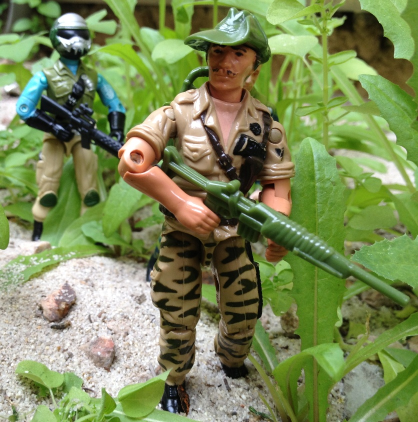 Leopardo, Brazilian exclusive Recondo, Estrela, Comandos Em Acao, Steel Brigade Mail Away, Fuego, Argentina Exclusive Ripcord, Plastirama, Ninja-Ku, Chinese Major Bludd, Risco, Alpine
