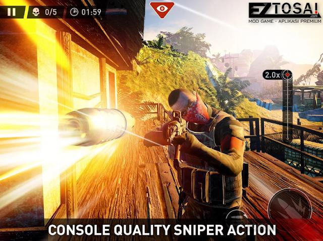Game Sniper Ghost Warrior Mod Apk Plus Full OBB Terbaru 2017