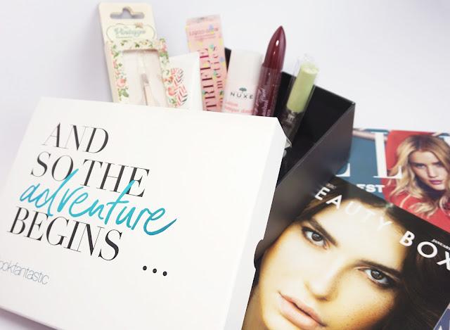 """LookFantastic - Beauty Box (""""The Beauty Revolution"""" - Jänner 2017)"""