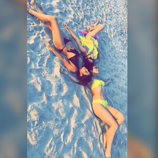 Kishwer Merchantt in Bikini