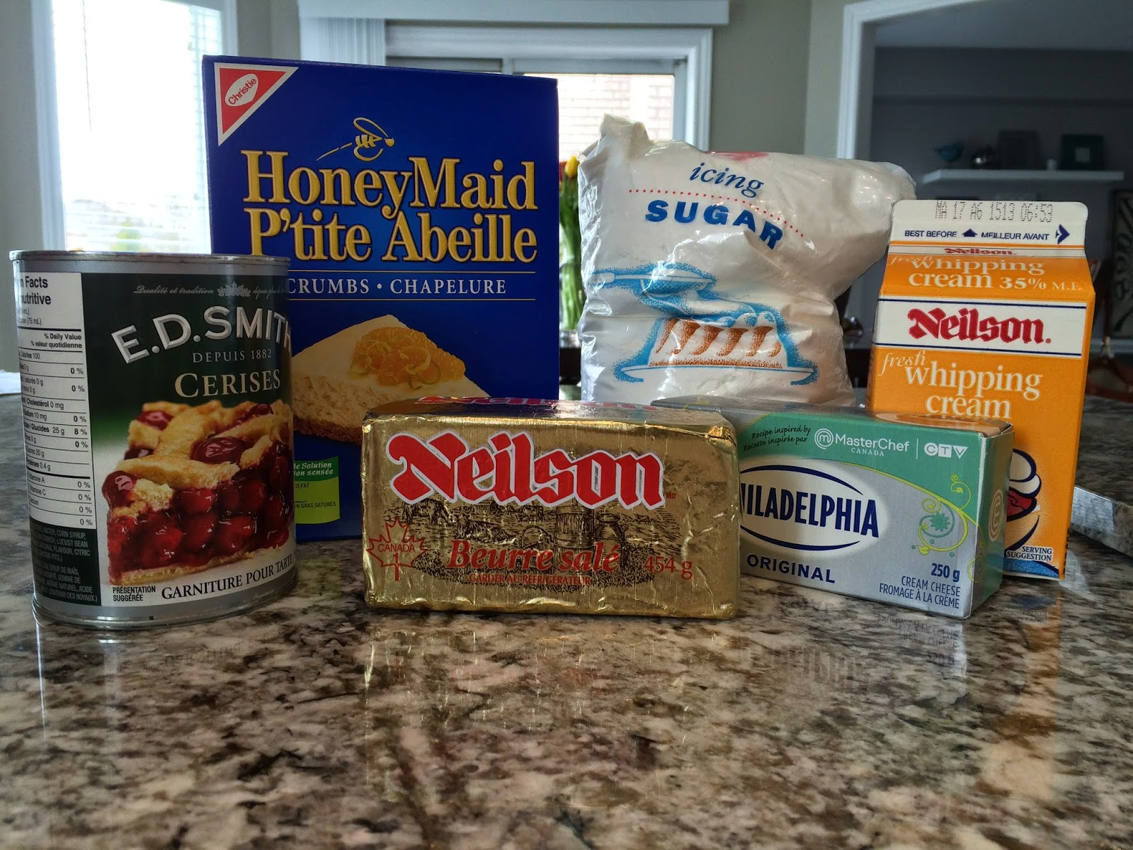 no bake cheesecake ingredients