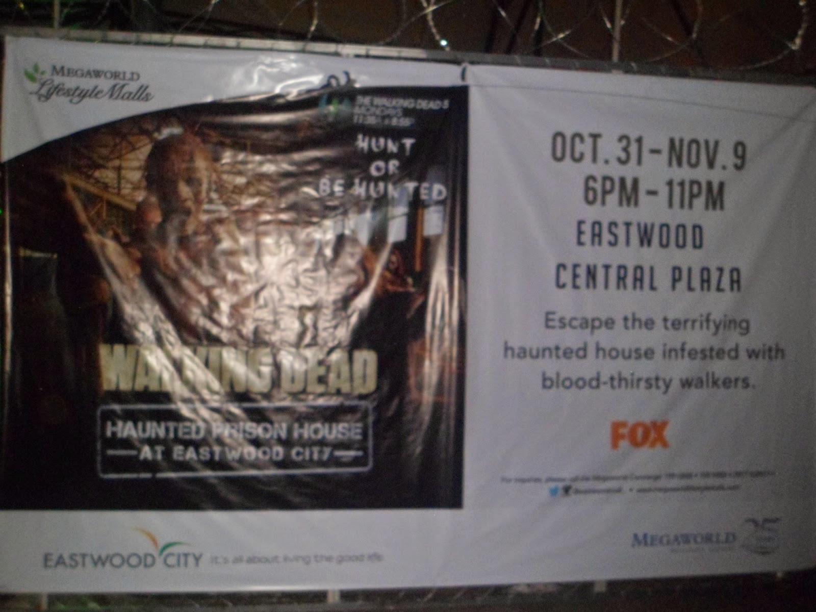 Eastwood City Brings The Walking Dead: Haunted Prison House