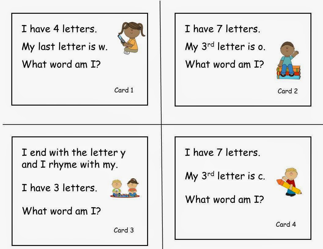Tips Amp Ideas From Anne Gardner Free Sight Word Riddles