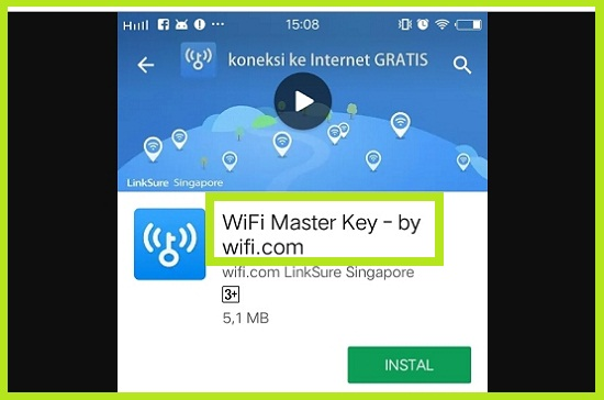 Cara Hack WIFI Menggunakan WiFi Master Key