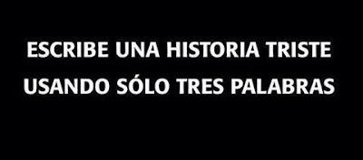 #TresTristesPalabras