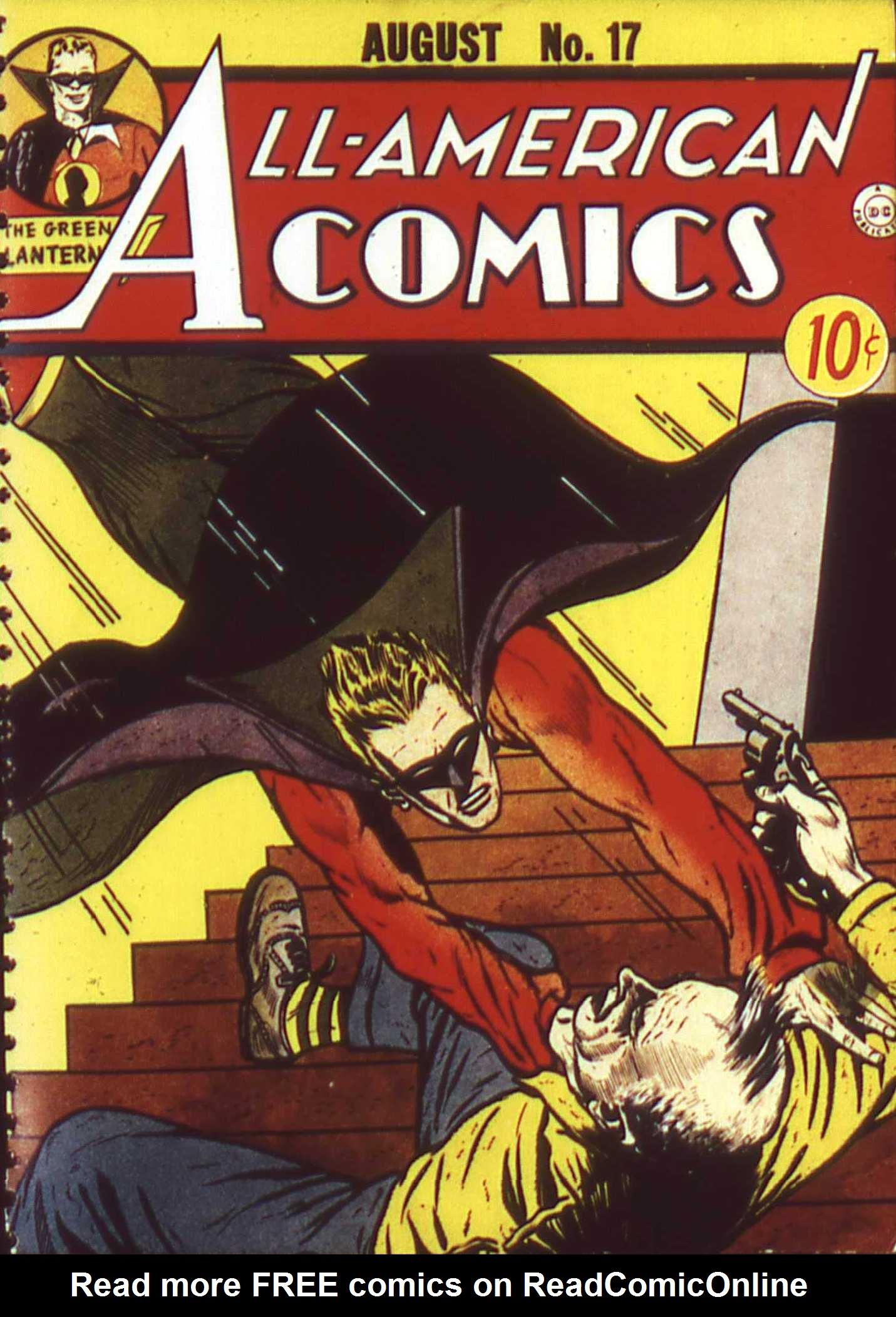 Read online All-American Comics (1939) comic -  Issue #17 - 1