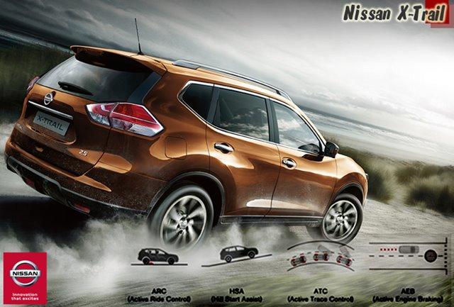 NISSAN X-TRAIL MOBIL SUV PALING NYAMAN