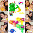 Happy Holi from Shourya and Naksh.... | Being Mommee..Love It. Like It. Live It.