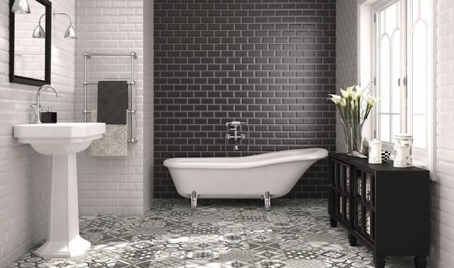 ванные в коттедже