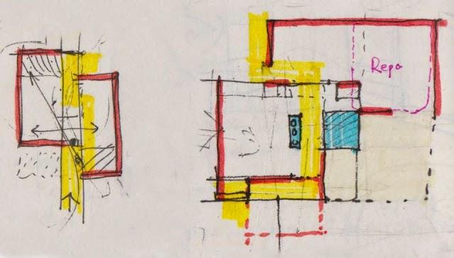 """Một vài chia sẽ với thiết kế kiến trúc """"nhà phố""""."""