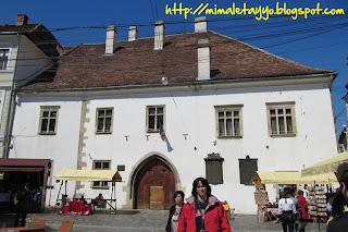 Cluj Napoca - Casa de Matias Corvino