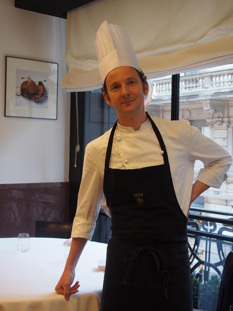 """Incontri: """"non lesinate mai sul burro"""" parola di Galileo Reposo, Pastry Chef di Peck"""