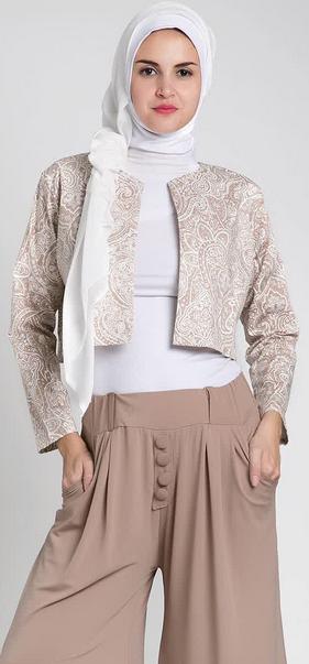 Desain Baju Kerja Muslimah