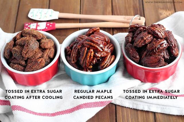 Easy Candied Pecans For Salad, Desserts & Food Gifts