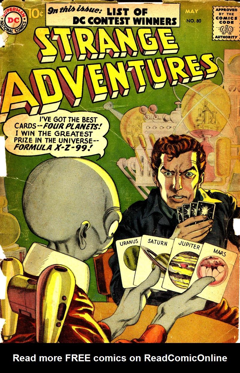 Strange Adventures (1950) issue 80 - Page 1