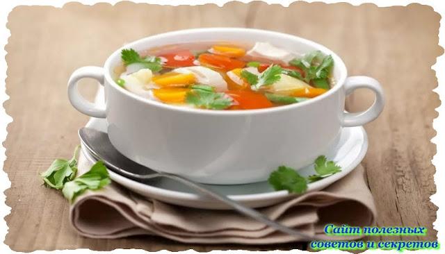 Особенности приготовления диетических супов