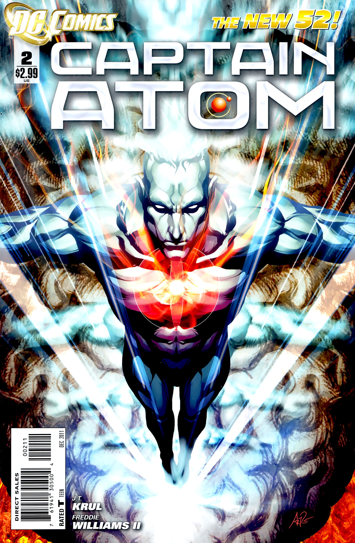 Captain Atom (2011) 2 Page 1