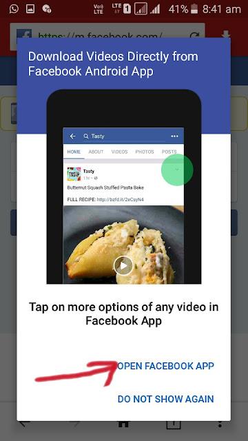 Facebook Video Download by Videoder