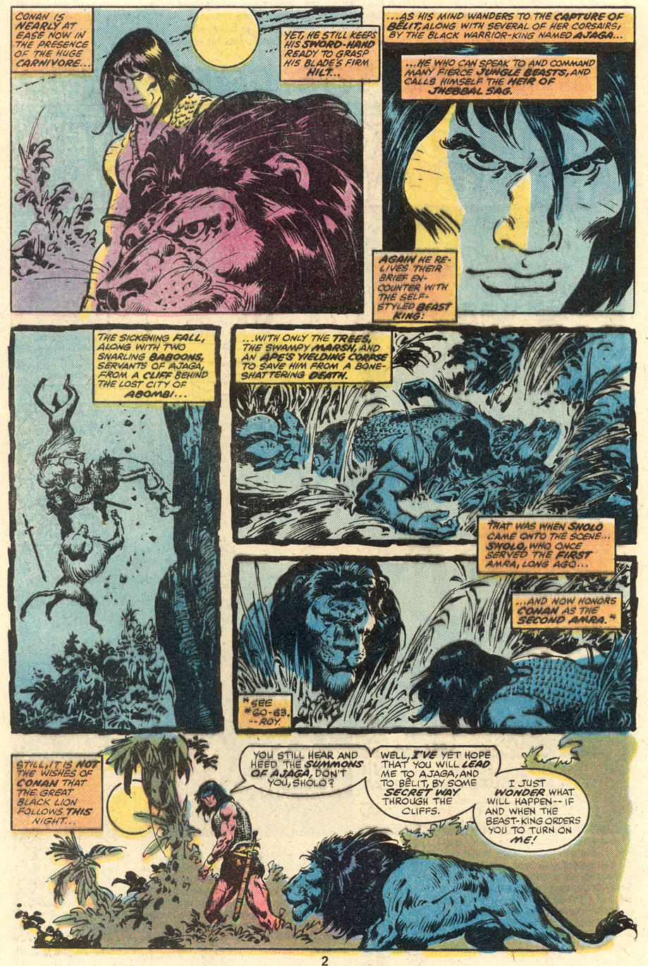 Conan the Barbarian (1970) Issue #96 #108 - English 3