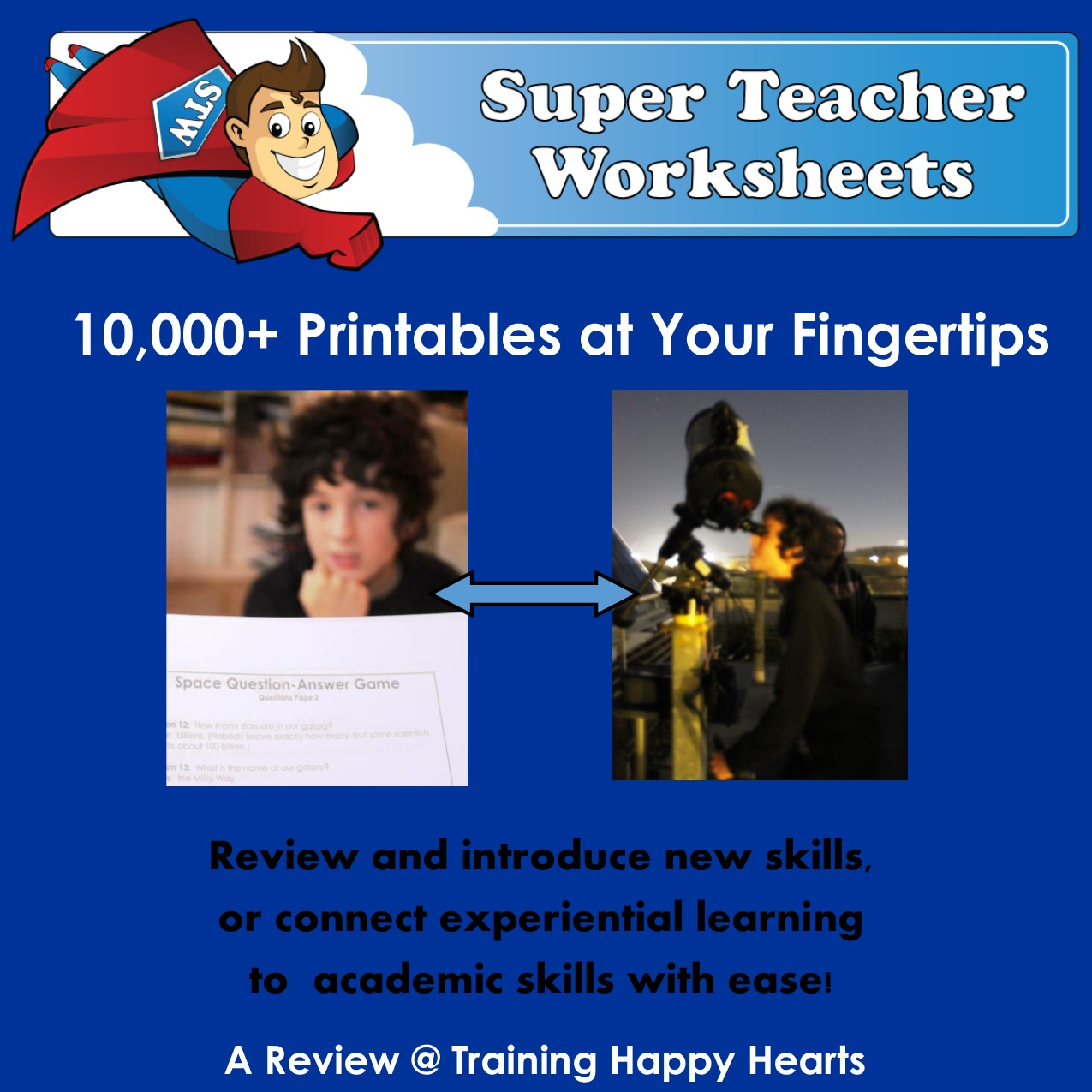 Super Teacher Worksheet Game