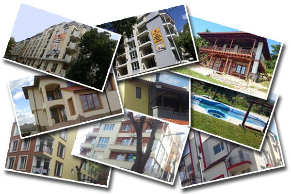 Жилищни сгради, построени от строителна компания Бургос Строй - Бургас