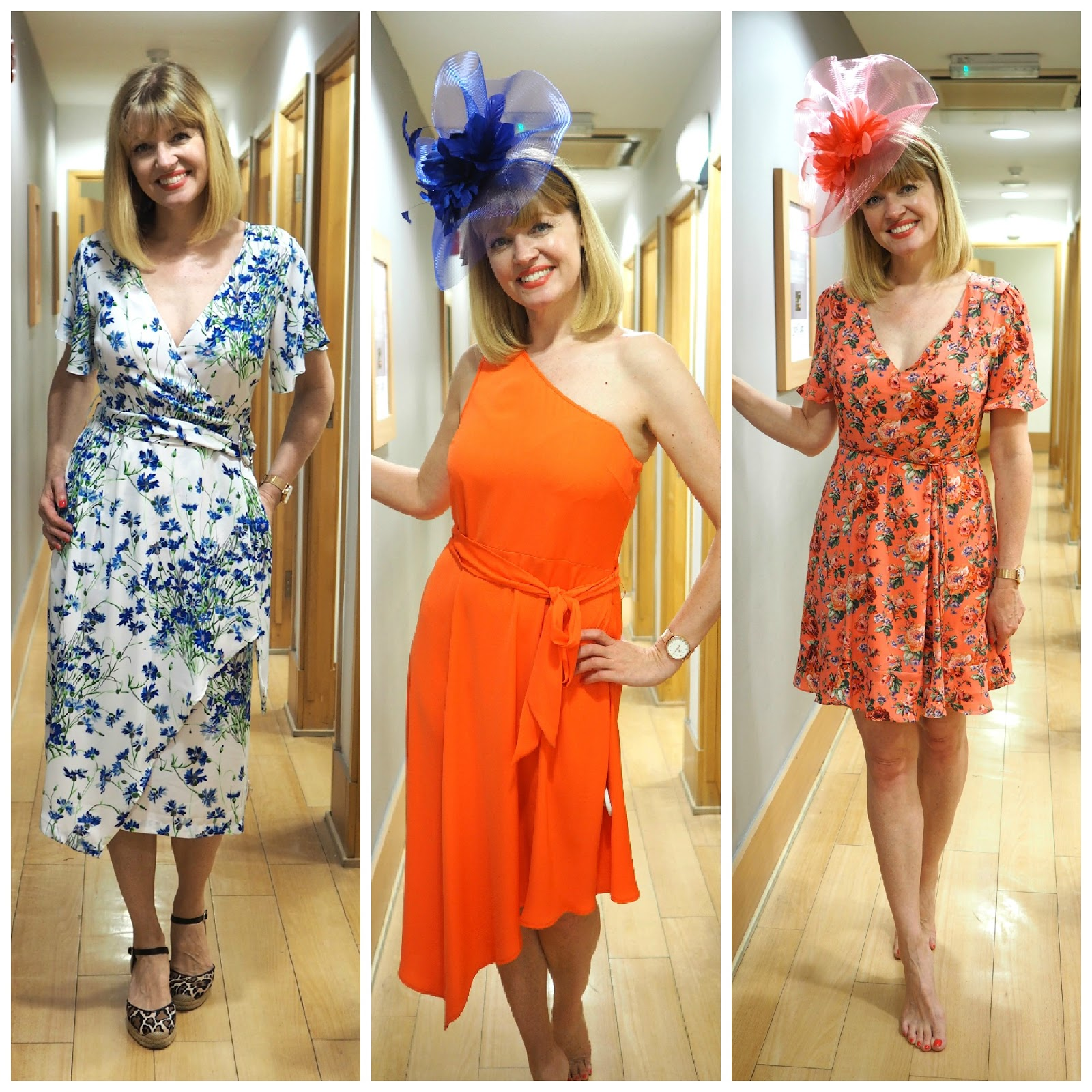 What to wear for York Races, Outfit dresses, Dorothy Perkins fascinators over 40