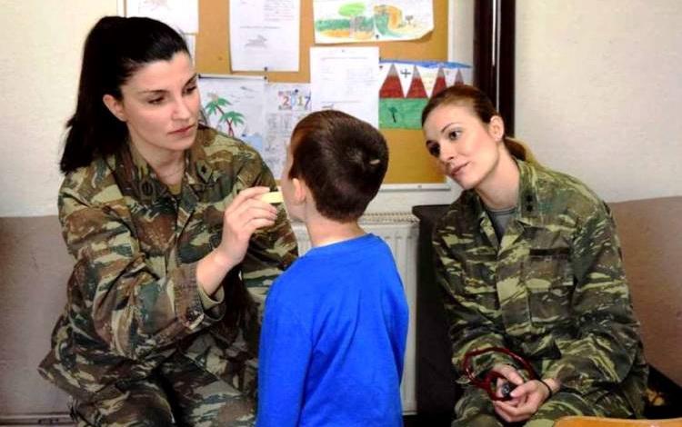 Στρατιωτικό ιατρικό κλιμάκιο στη Νίψα Αλεξανδρούπολης