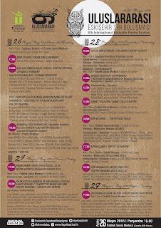 6. Uluslararası Eskişehir Şiir Buluşması