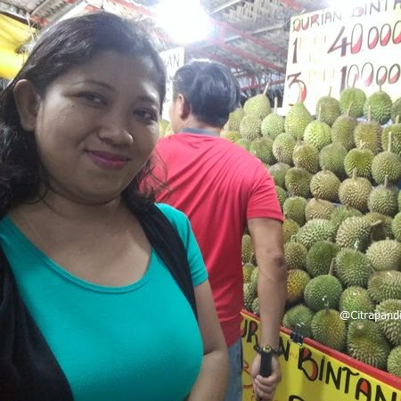 Eating Durian in The Durian Season
