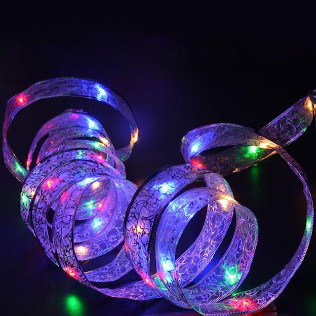 40 LED Battery Powered Holiday Decorative String Lights