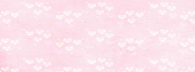 Pink white hearts Facebook Timeline Cover