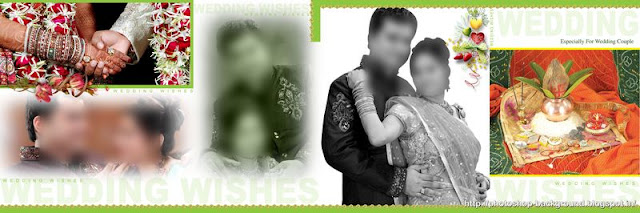 Lovely Portrait PSD for Wedding Photo Album