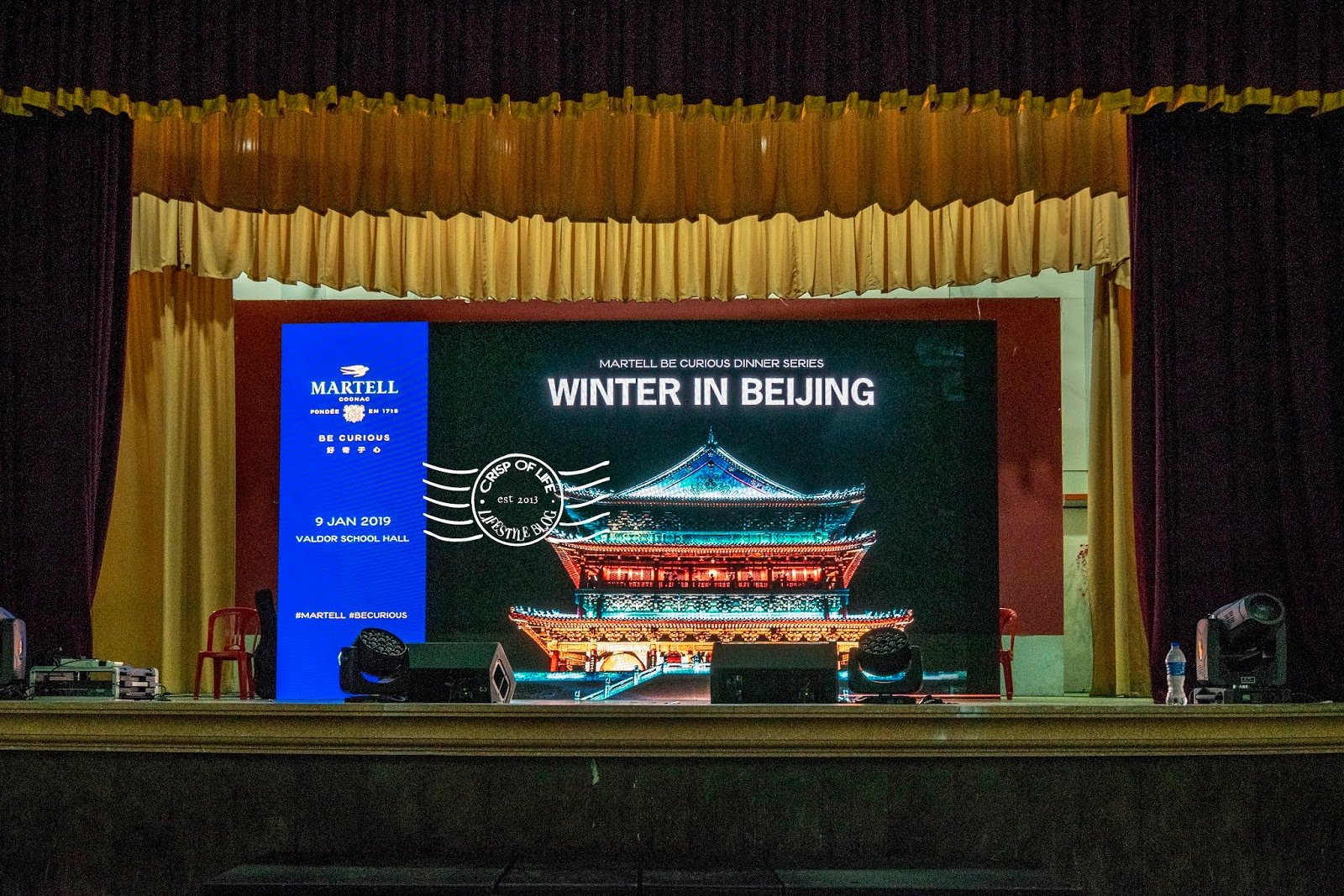 "Be Curious Dinner Series ""Winter in Beijing by The House of Martell and Chivas Regal"