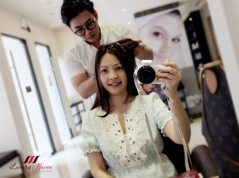 beauty influencer reviews goodwood park georginas hair salon