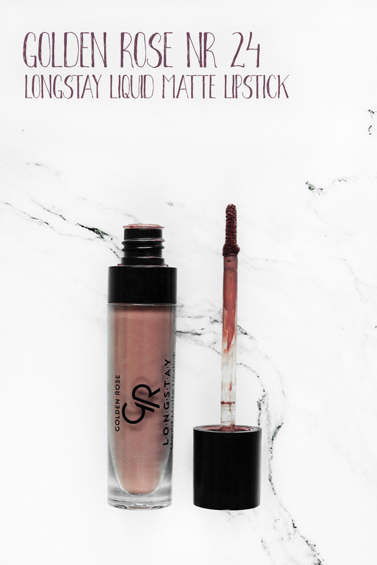 MÓJ MUST HAVE! 💄 GOLDEN ROSE, LONGSTAY LIQUID MATTE LIPSTICK, NR 24 ♥