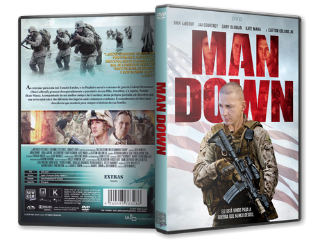 Capa DVD Man Down [Exclusiva]