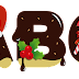 Abecedario Navideño Bañado en Chocolate. Christmas Alphabet with Chocolate.